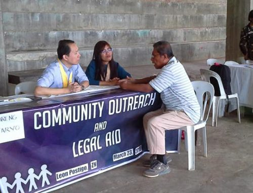 IBP-ZN offers legal aid in Leon Postigo